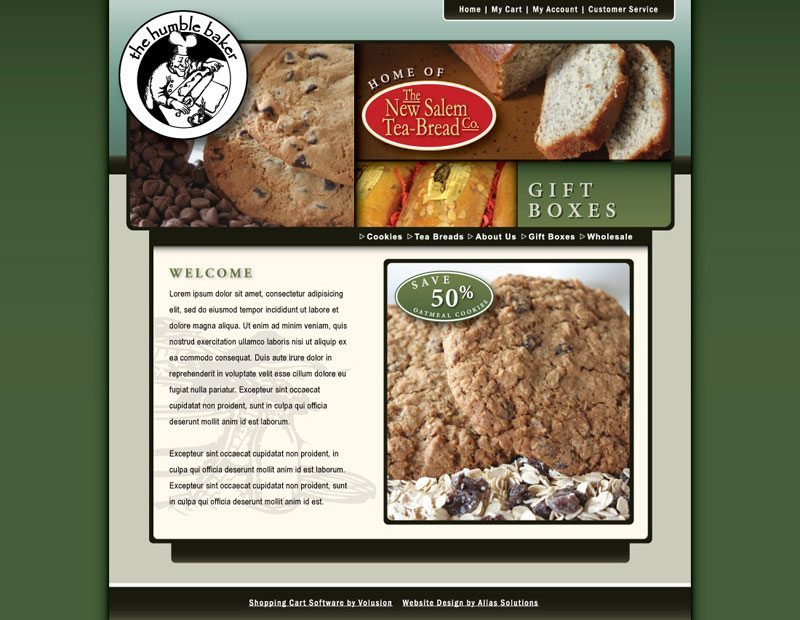 New Salem Tea-bread Website