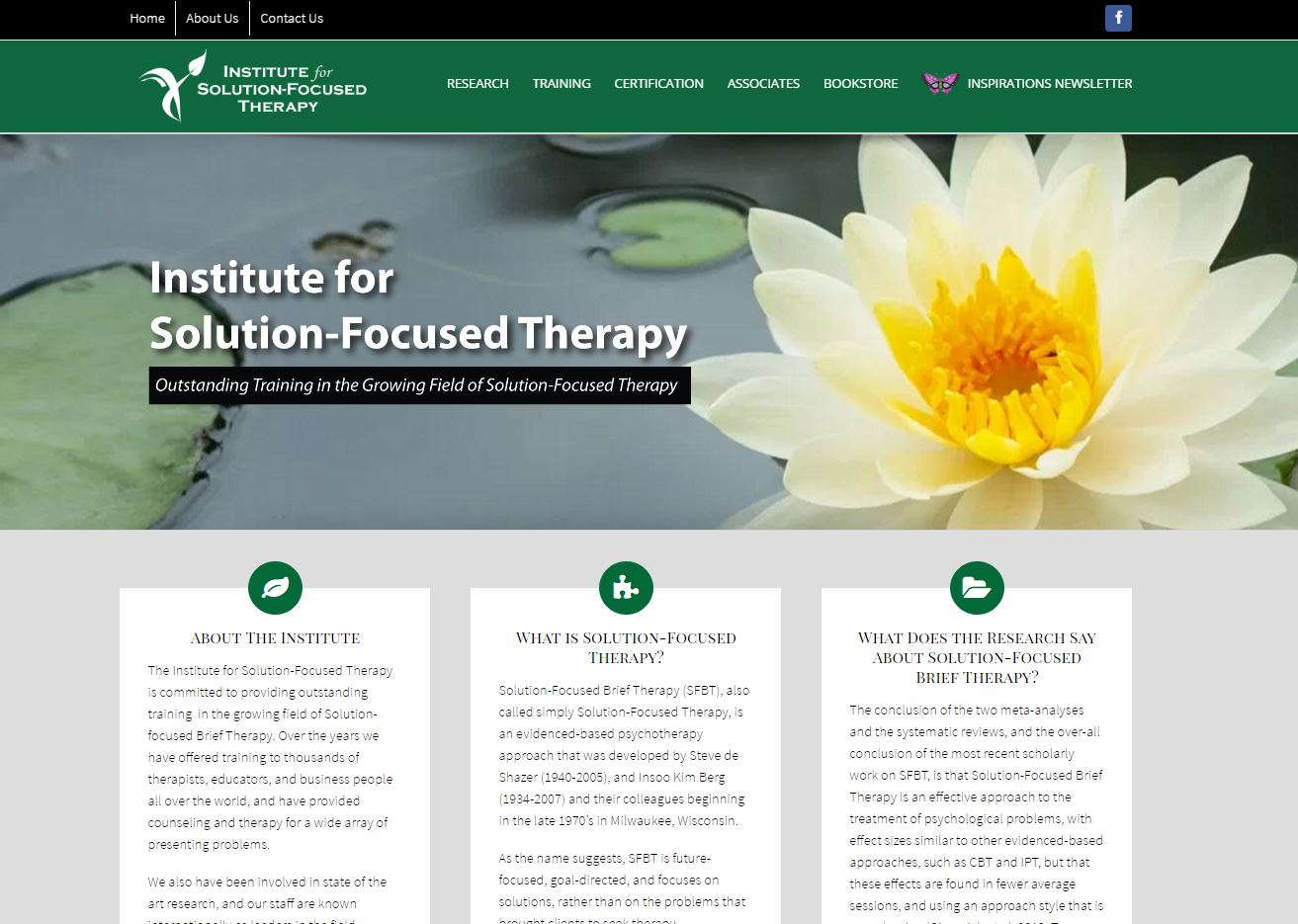 Institute For Solution Focused Therapy